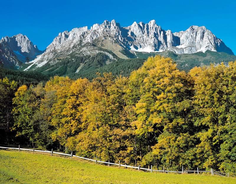 Autunno e Kaisergebirge