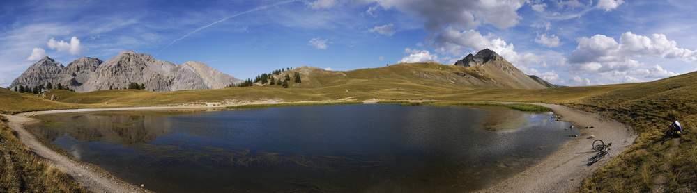 lac de thures, valle stretta, hautes alpes, francia