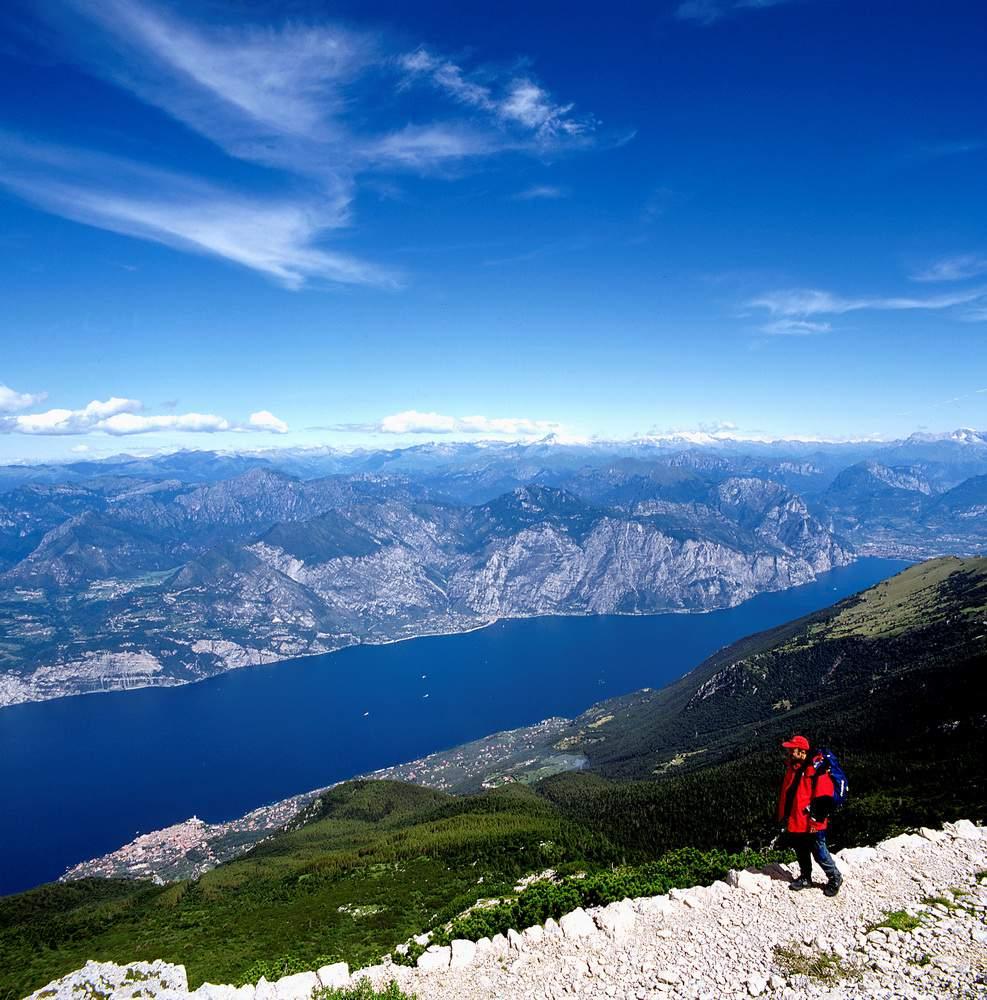 Lago di Garda e Riva dal Monte Baldo