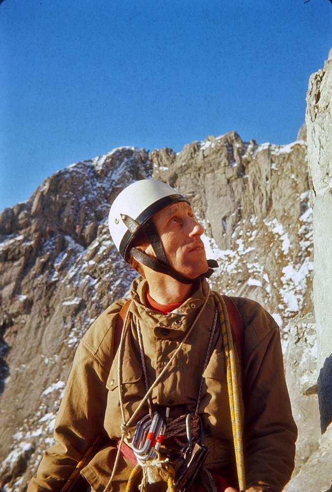 Giorgio Noli sul Pilastro della Pania Secca, via Montagna, 1a inv. 26.01.1969