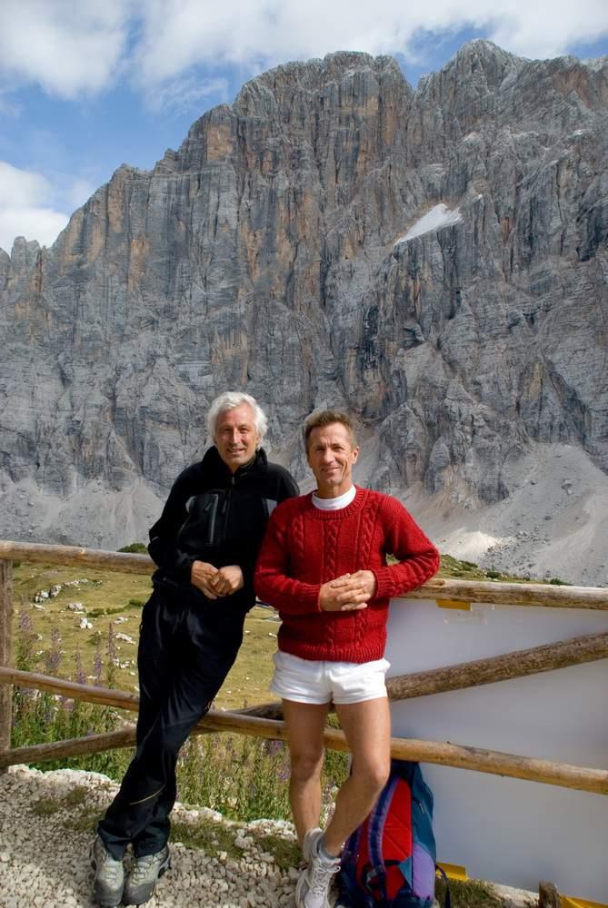 rifugio Tissi, Paolo Leoni e Renato Panciera