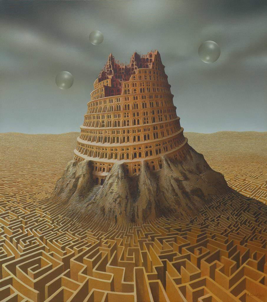 DueAnzi19.000Parole-3-tower_of_babel_by_andreaszielenkiewicz