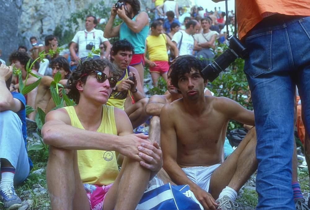 Bardonecchia 1985, S. Glowacz, e M. Pedrini