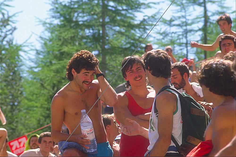 Bardonecchia 1985: Jerry Moffat e Wolfgang Guellich